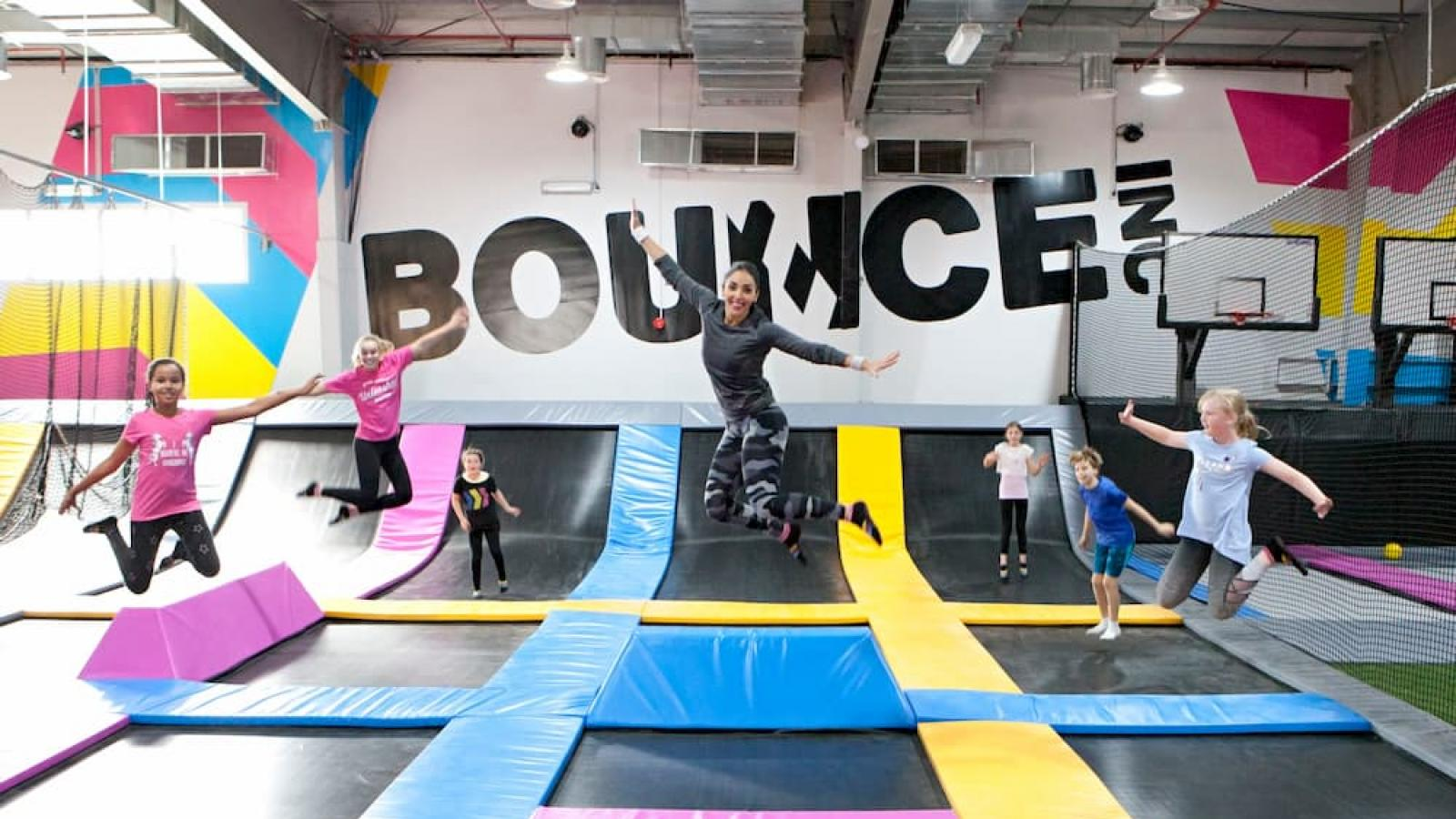 Double the fun at BOUNCE with the two hour super pass