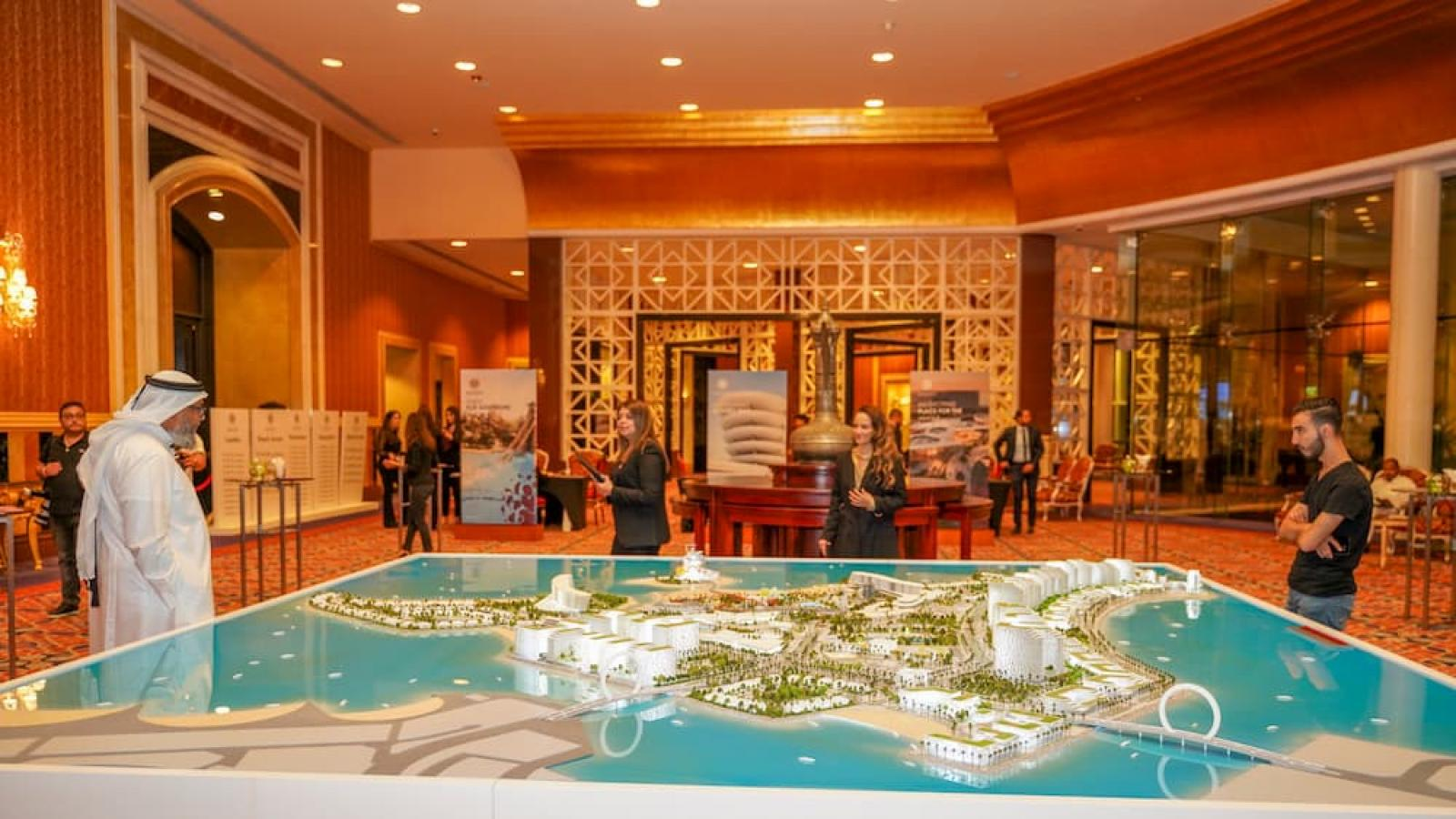 Sales launch of Qetaifan Island North's phase 1 plots