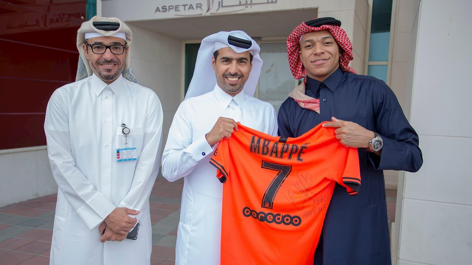 Mbappe arrives in Aspetar for sports recovery program