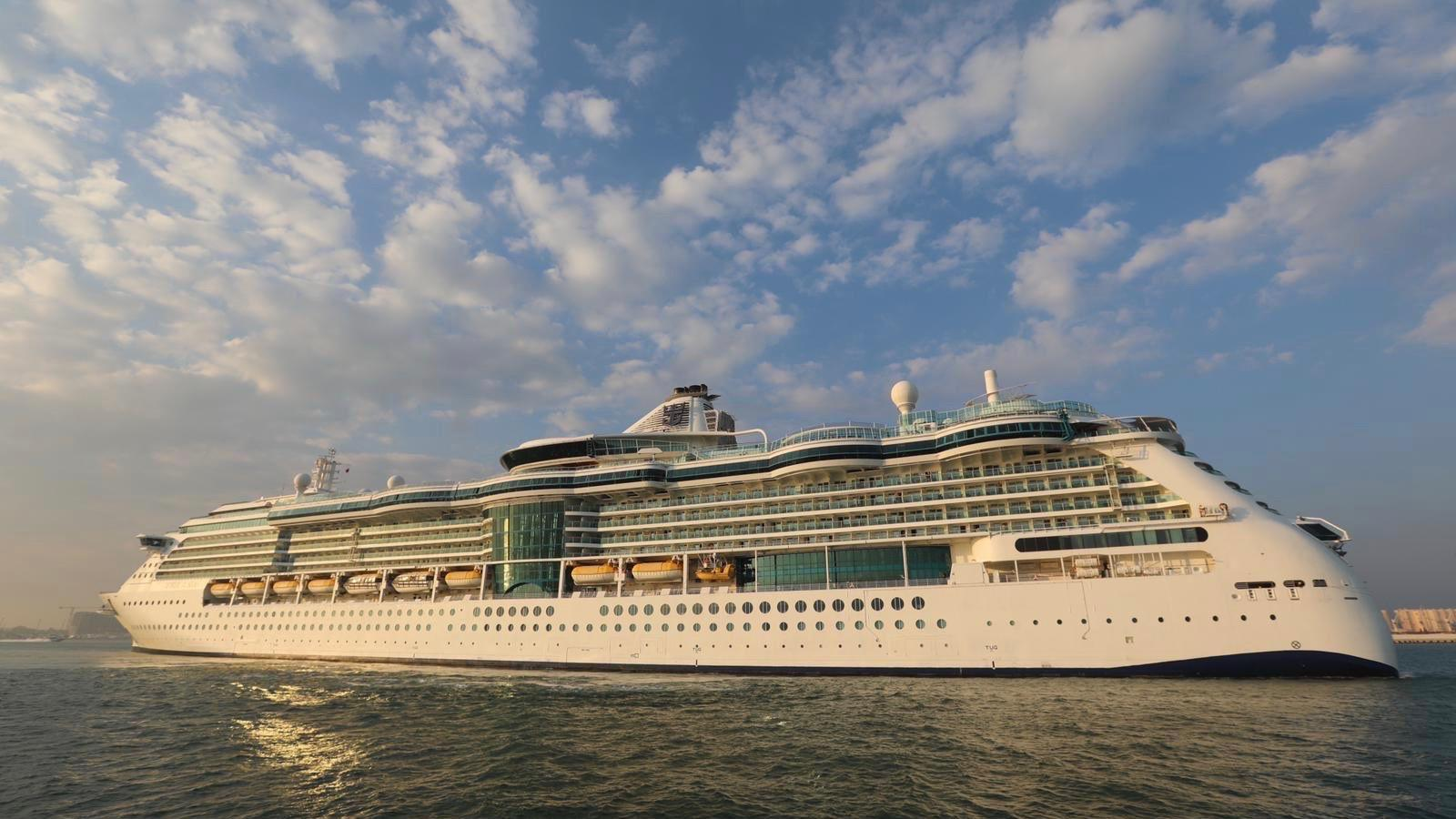 Doha welcomes first American mega cruise ship