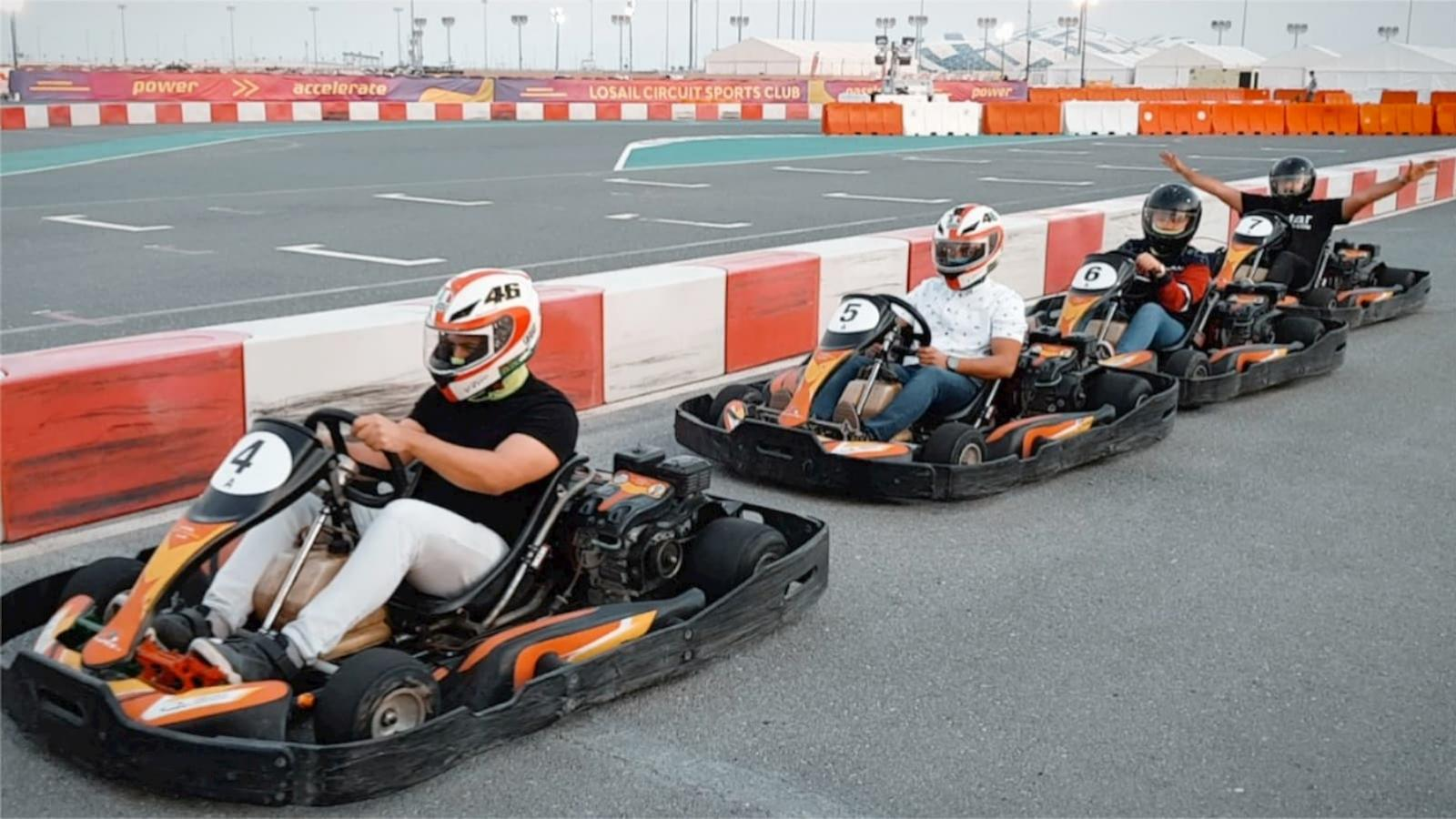WATCH: Qatar Living goes karting at Losail Circuit Sports Club