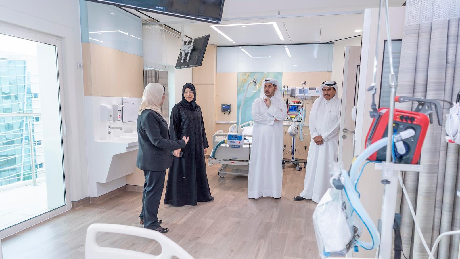PM opens HMC's specialized care center for elderly