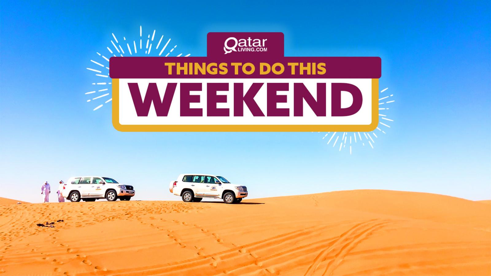 Things to do in Qatar this weekend: January 16-18