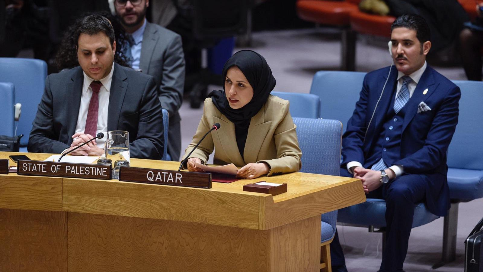 Qatar reiterates call for peaceful settlement of Gulf crisis