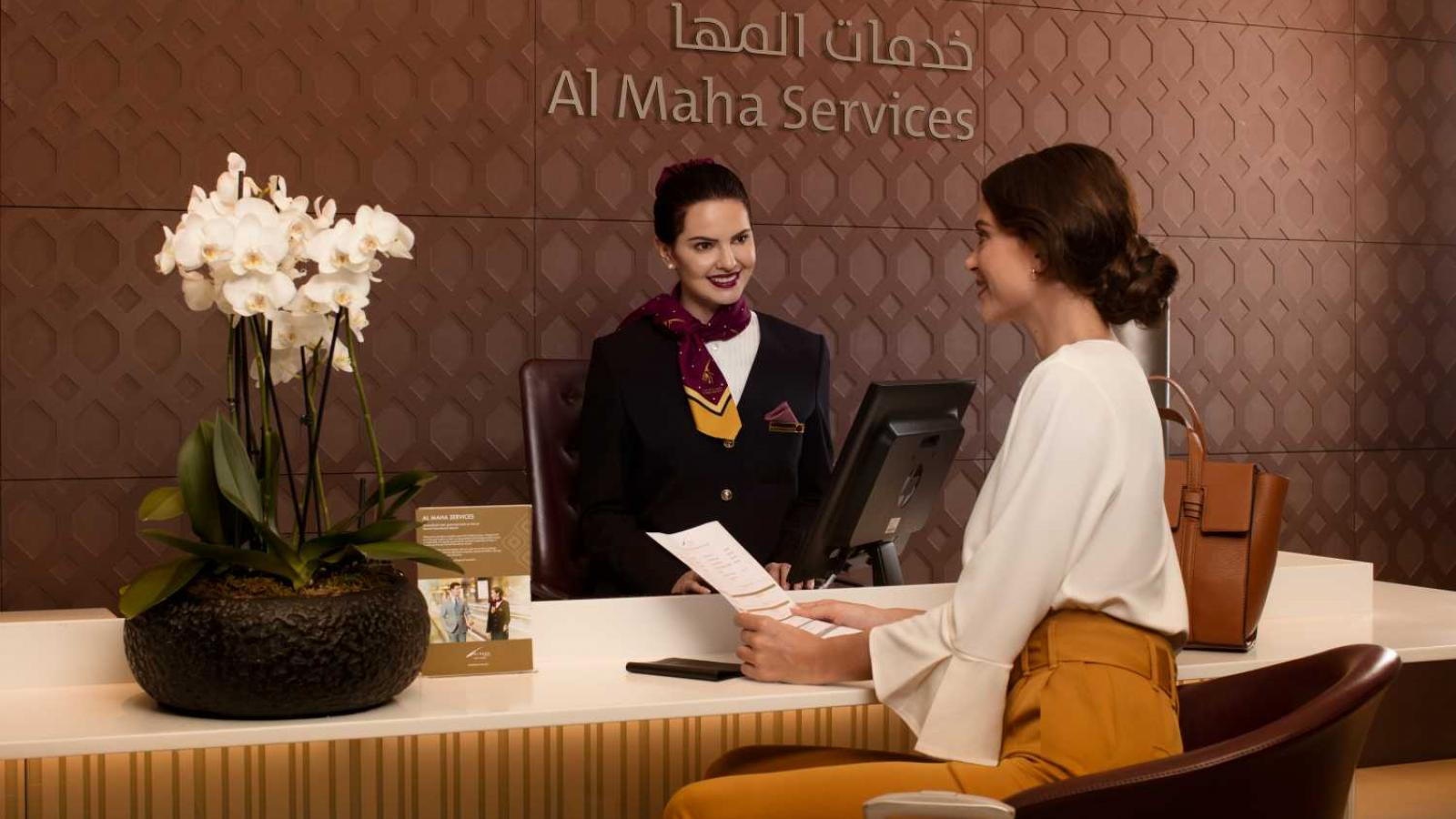 Enjoy a seamless airport experience with Al Maha Services