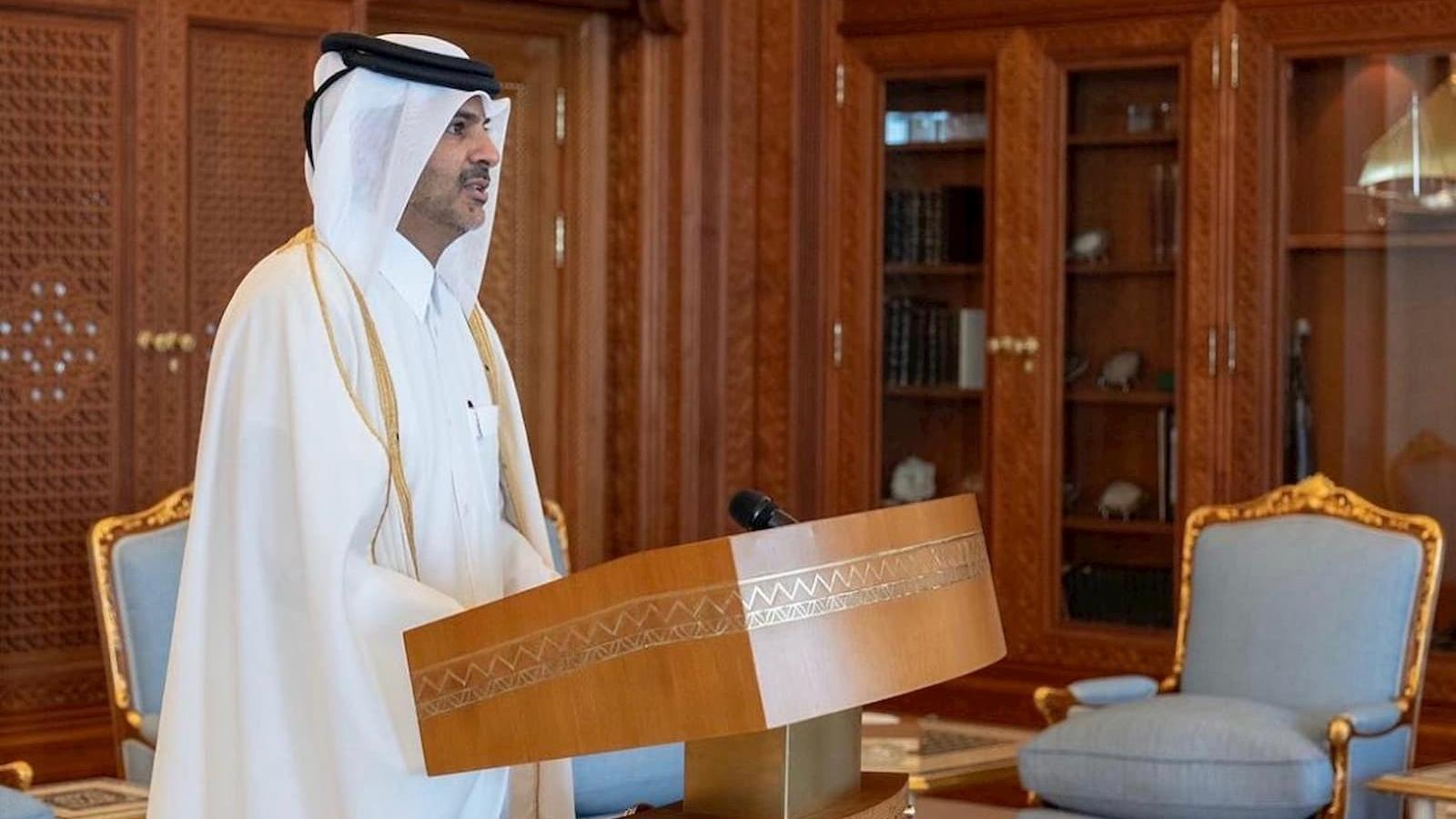 HE Sheikh Khalid takes charge as Qatar's Prime Minister and Minister of Interior
