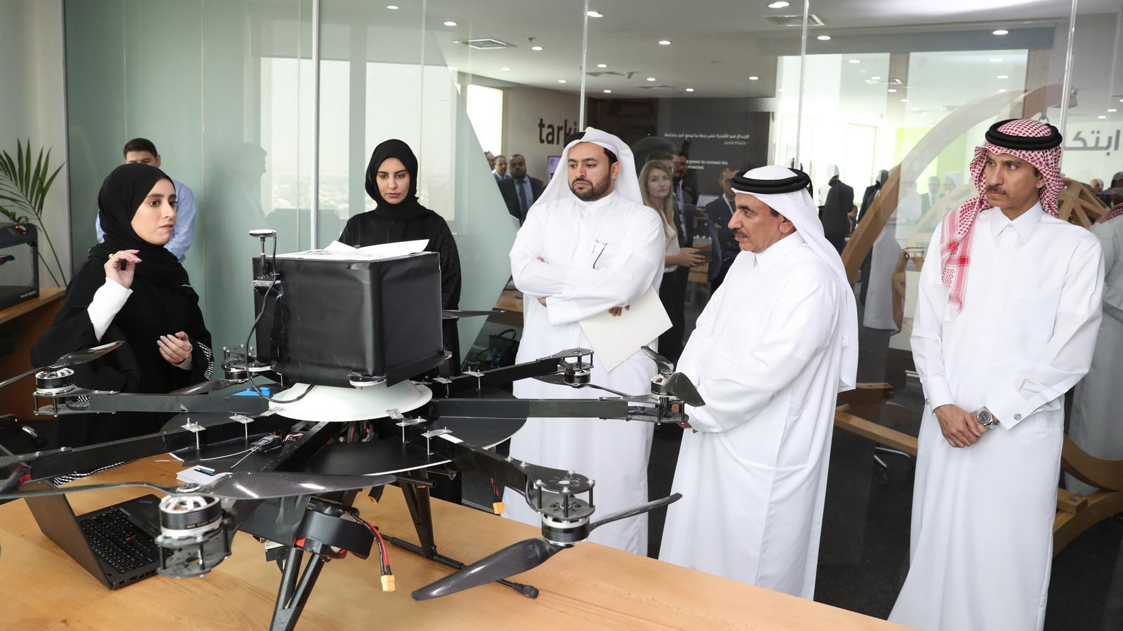 Minister of Transport and Communications Launches TASMU Innovation Lab