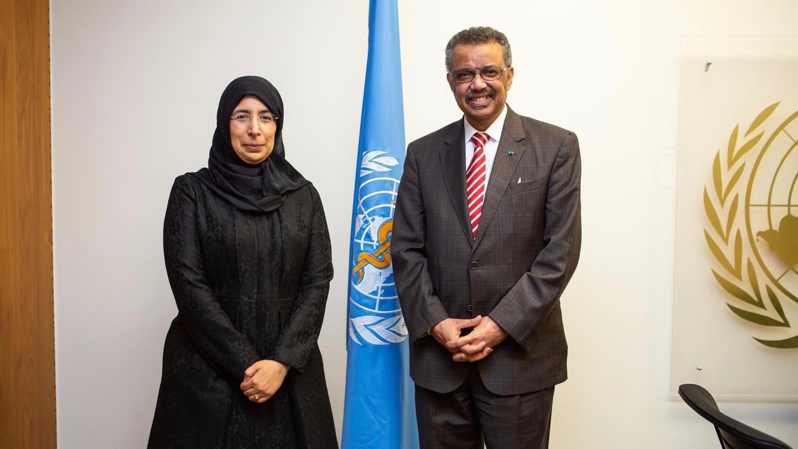 Qatar's Minister of Public Health meets WHO Director-General
