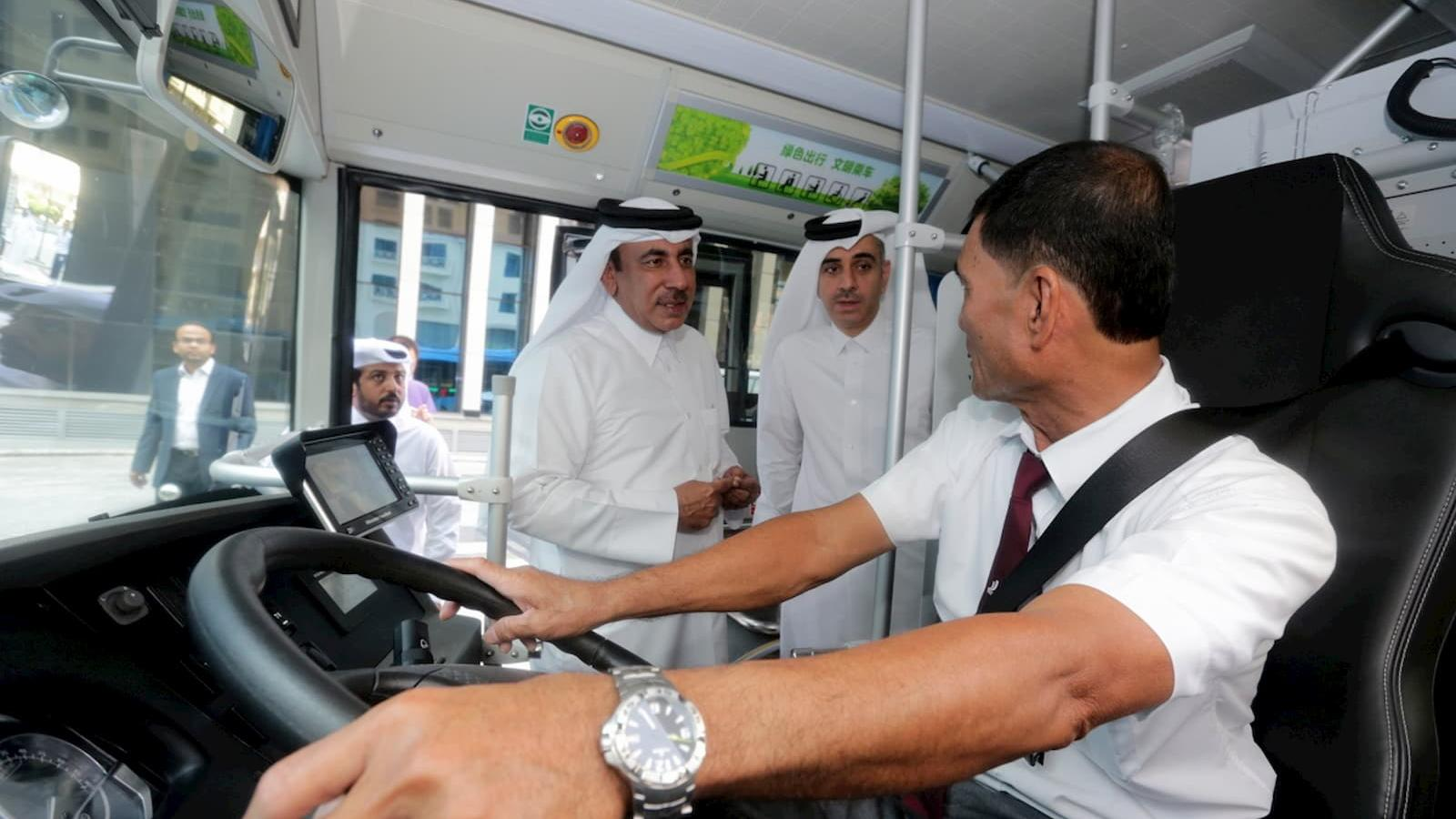 Qatar developing strategy to introduce integrated electric bus system