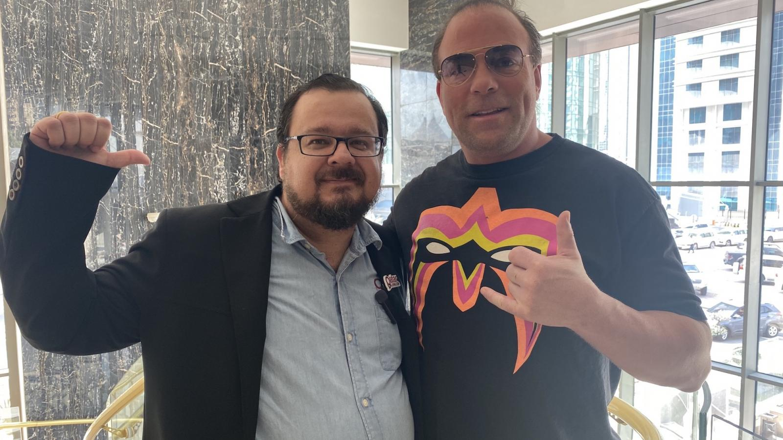 WATCH: Interview with wrestling legend Rob Van Dam