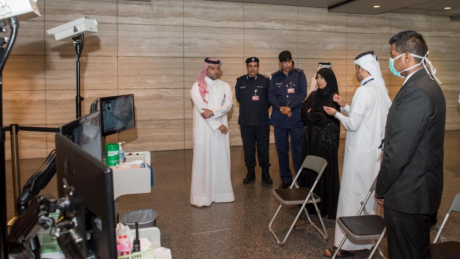 Health Minister reviews coronavirus detection procedures at HIA