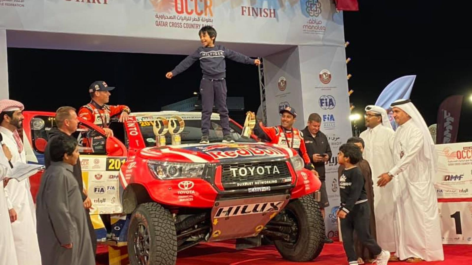 WATCH: Manateq Qatar Cross-Country Rally ends in style