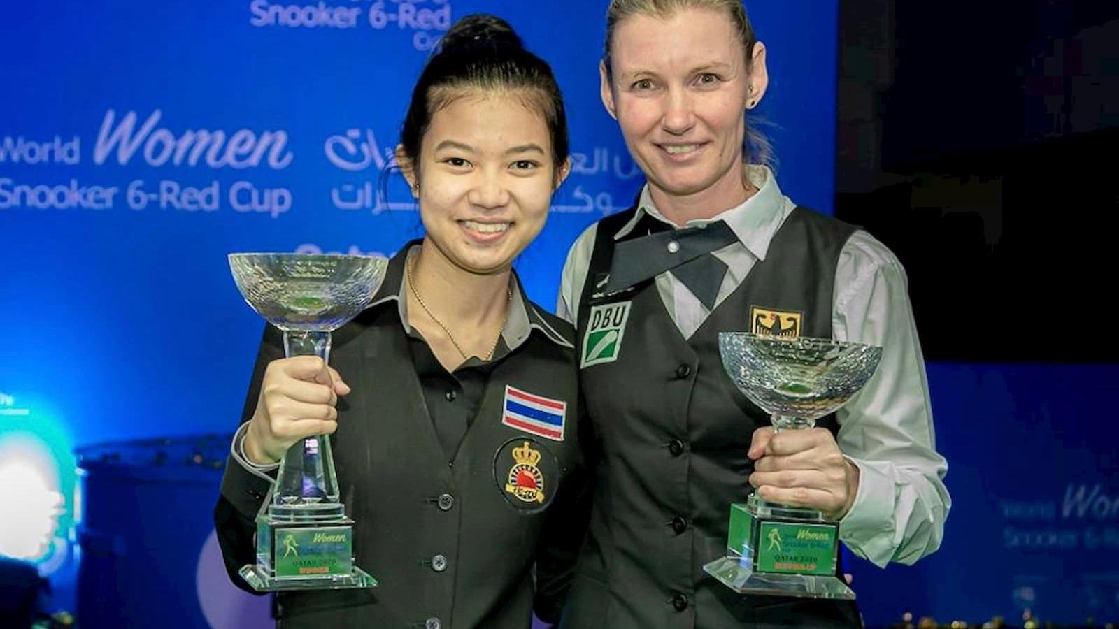 Thailand's Wongharuthai claims maiden World Women Snooker 6-Red Cup crown in Doha