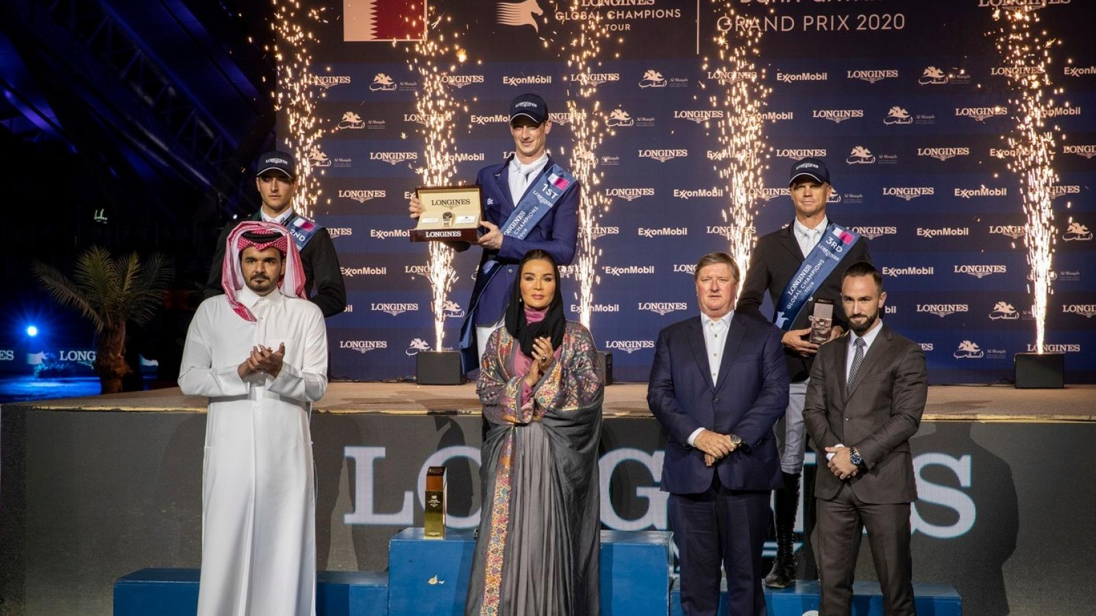 Desseur claims victory at season-opening LGCT Grand Prix of Doha