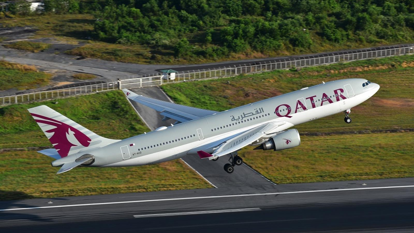 All incoming flights to Qatar are cancelled