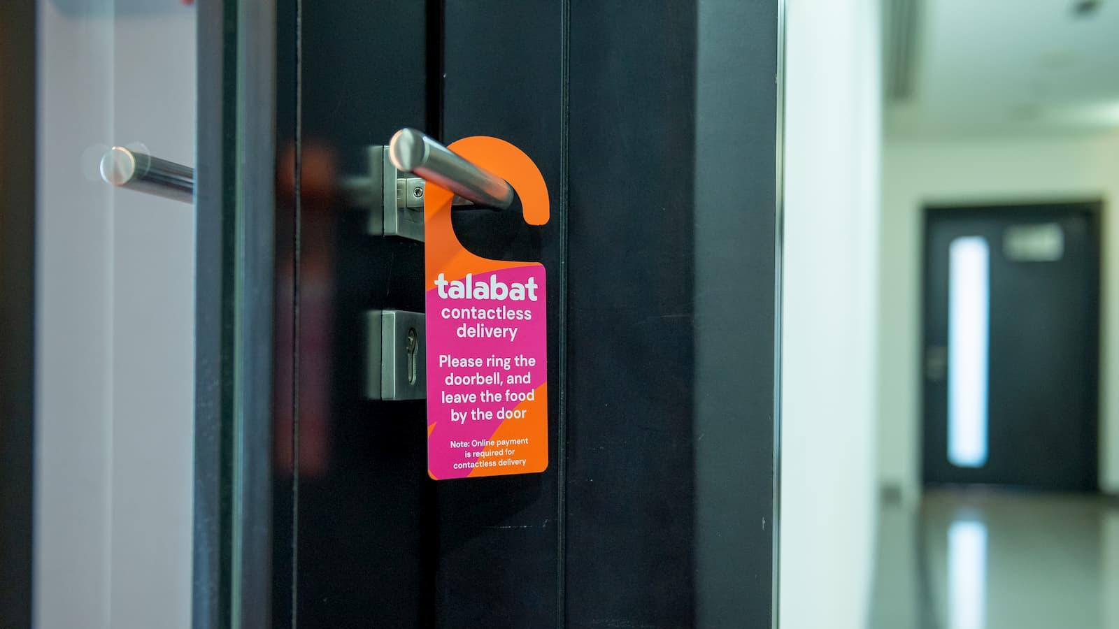 Talabat rolls out contactless and cashless delivery for customer and rider safety