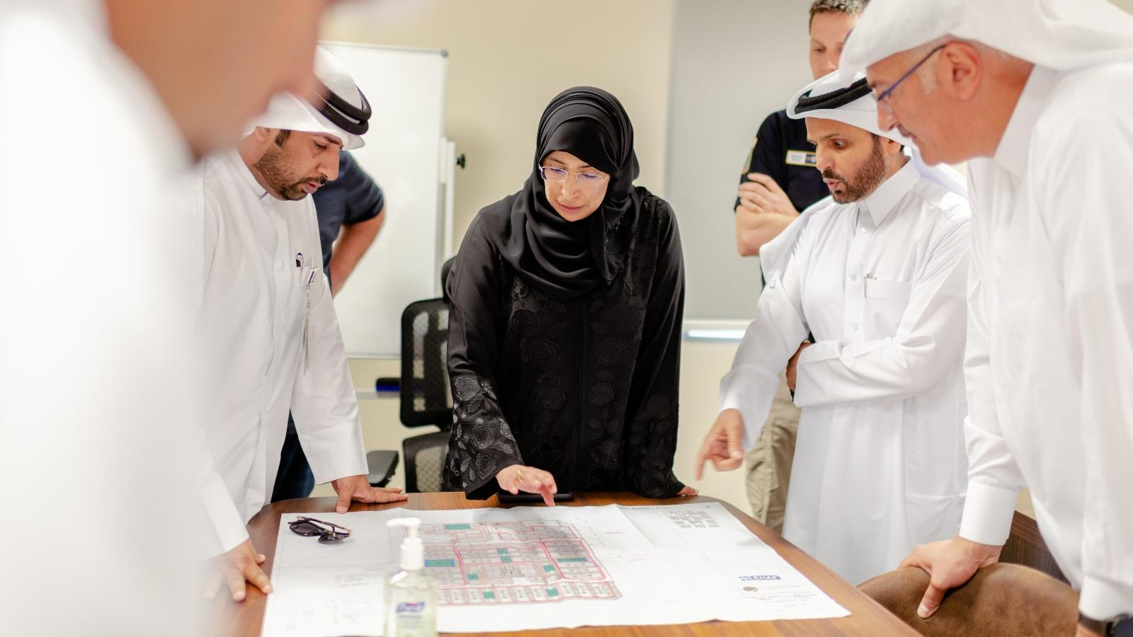 MoPH and MME inspect the newly established Umm Salal quarantine compound