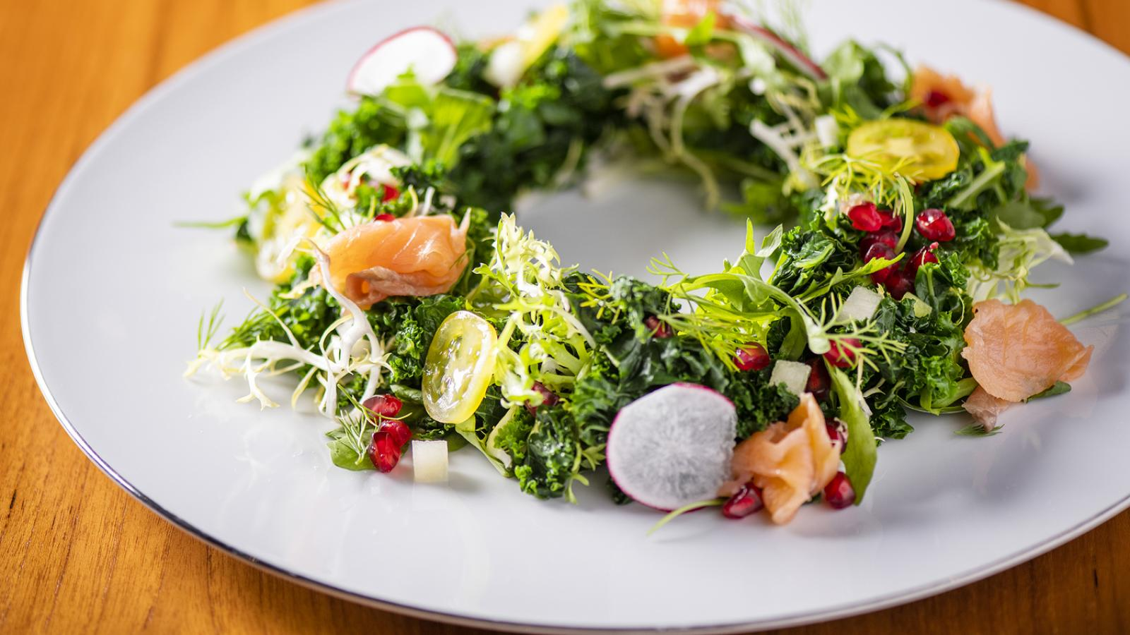 Delicious and healthy Kale Salad recipe by The Westin Doha Hotel & Spa
