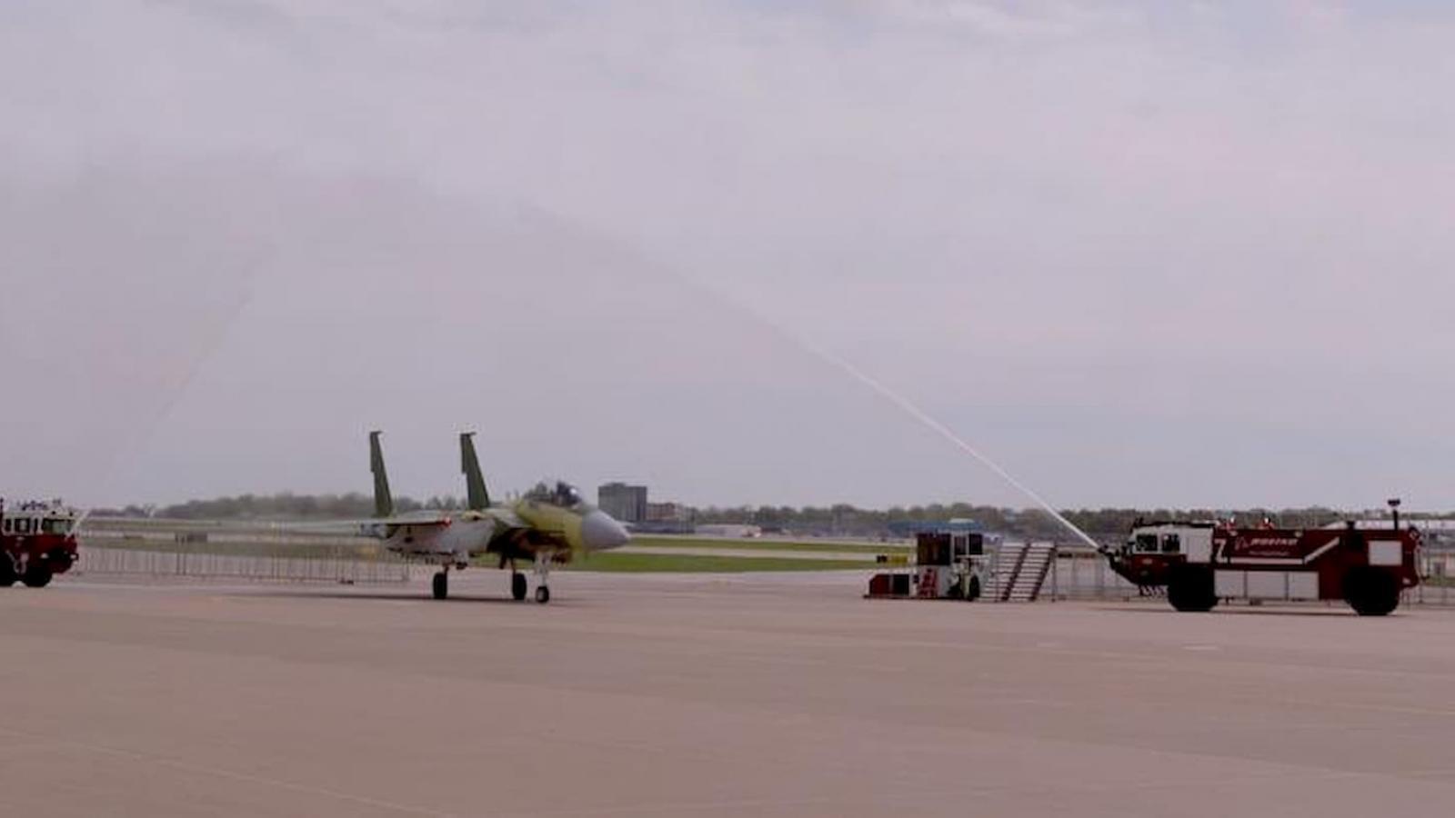 Qatar's F-15 fighter jets make first test flight