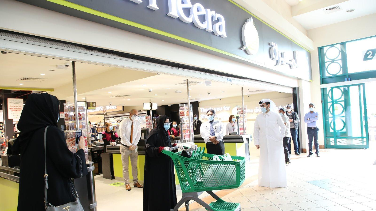 Al Meera opens doors of its latest branch at The Mall