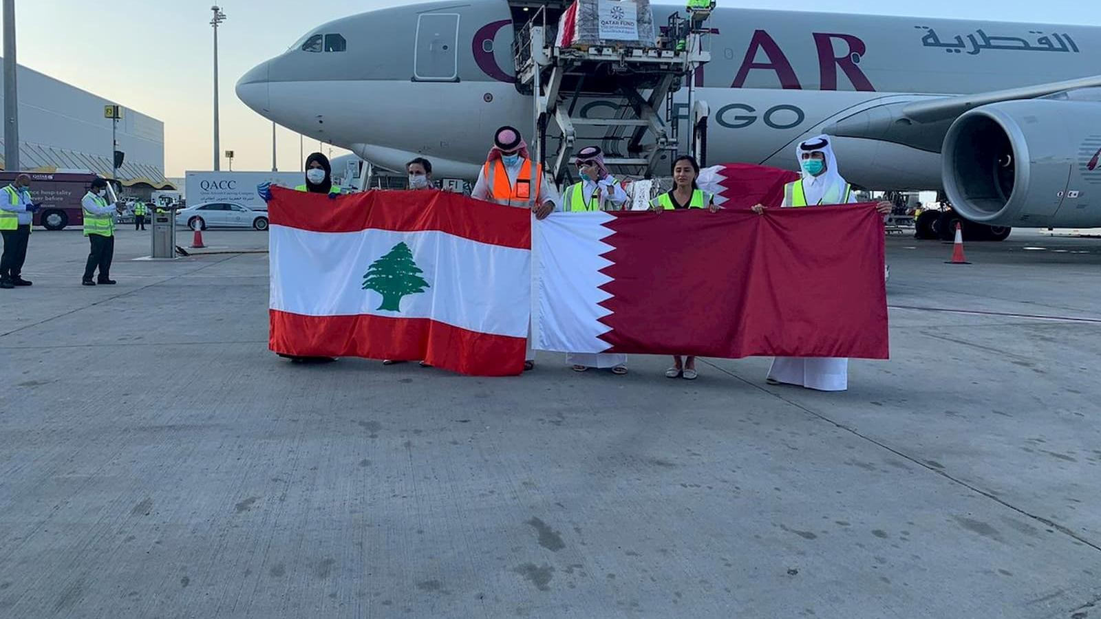 Qatar sends urgent medical aid to Lebanon, upon HH the Amir's directives