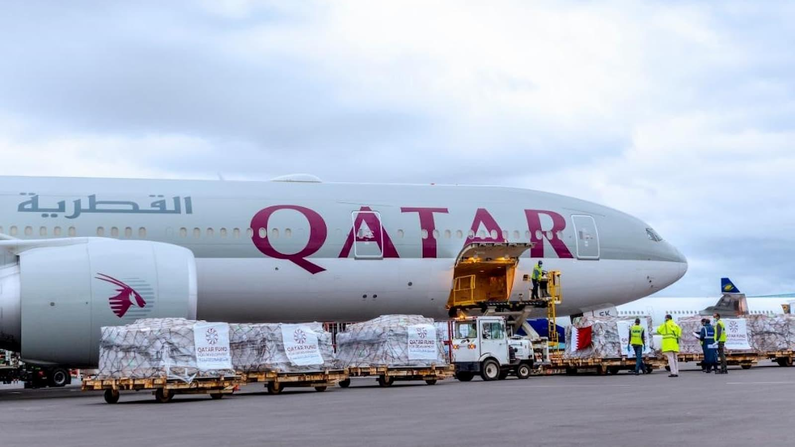 Qatar sends COVID-19 relief aid to four countries