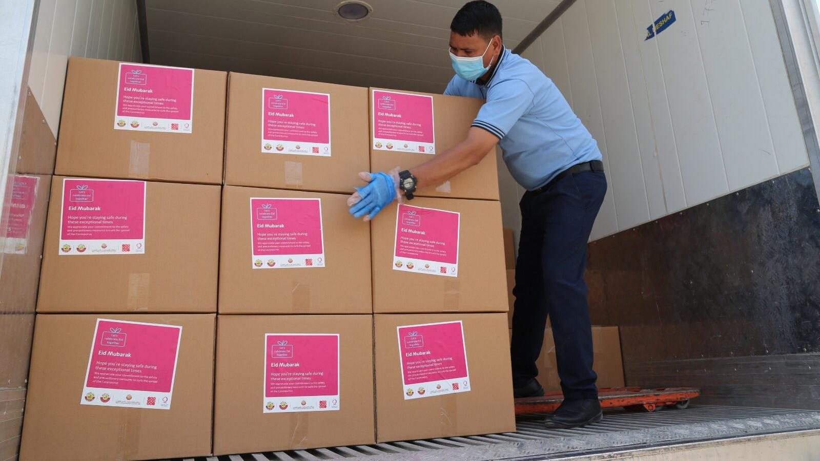 Qatar distributes 50,000 food kits to expat communities for Eid