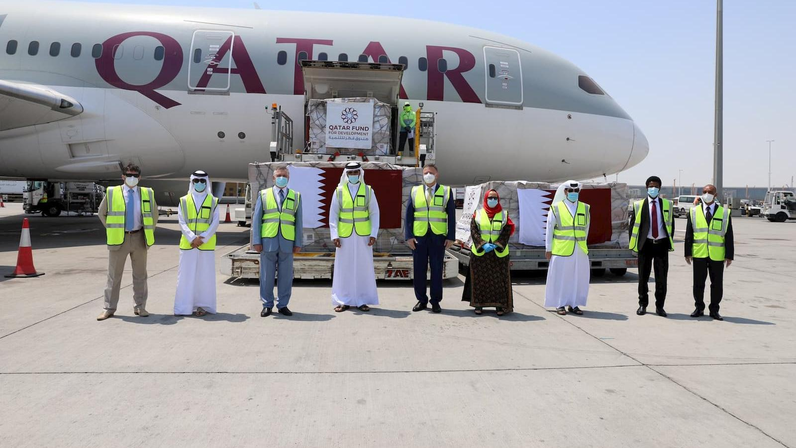 Qatar sends urgent COVID-19 relief aid to three more countries