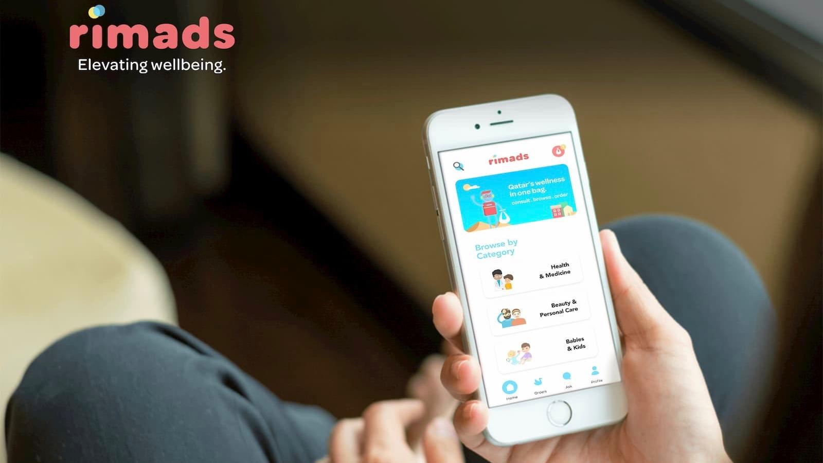 Rimads app offers swift doorstep delivery for over-the-counter medicines, healthy living products