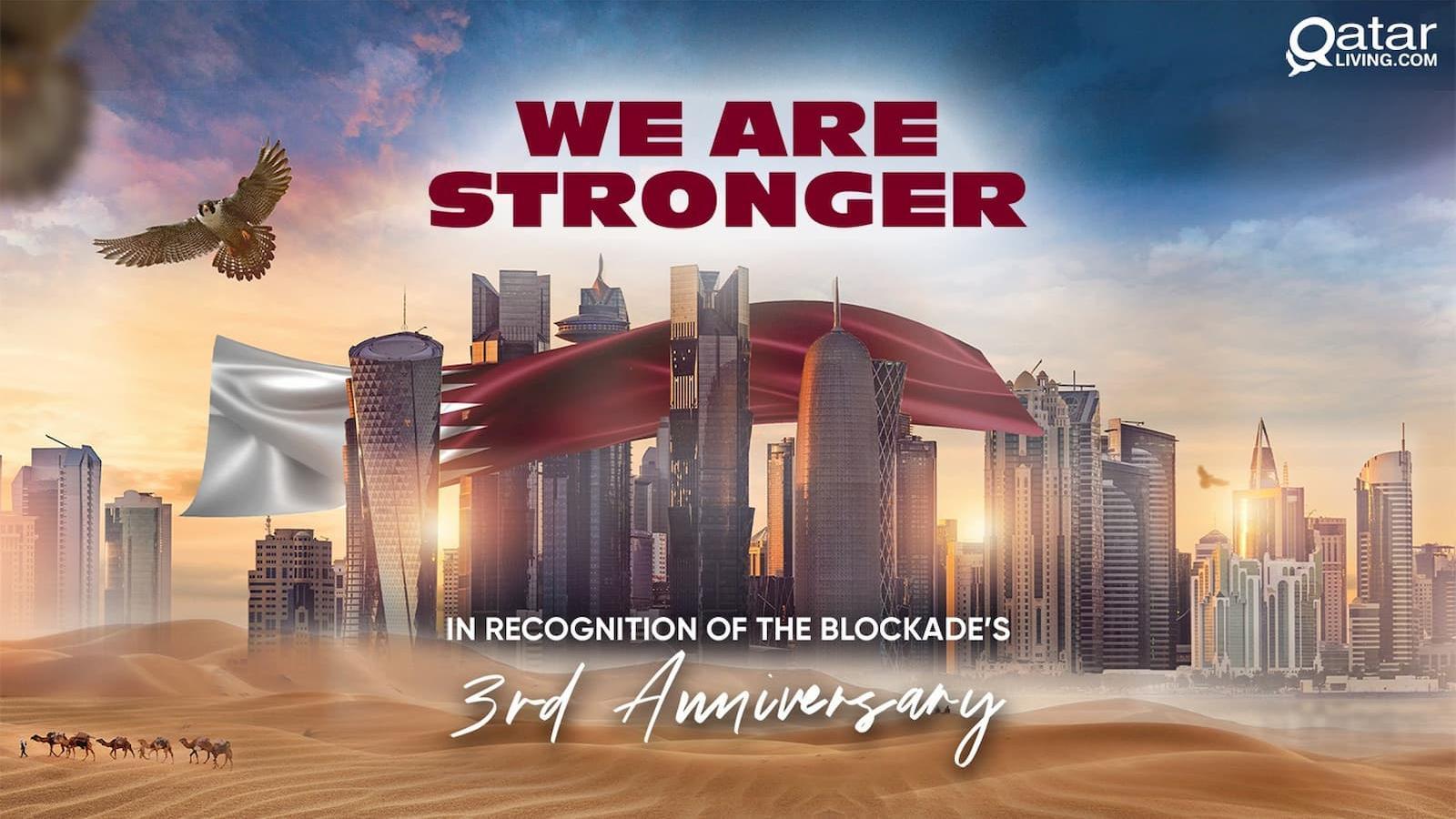 WATCH: Blockade - three years on, Qatar marches forward with dignity, self-reliance