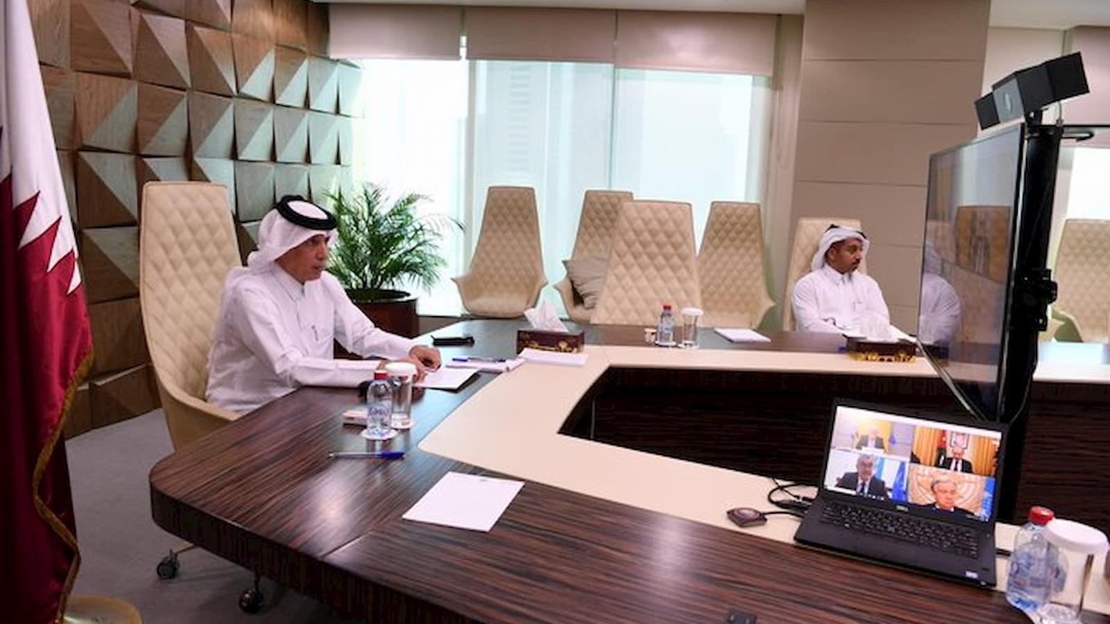 Qatar joins UNRWA virtual pledging conference