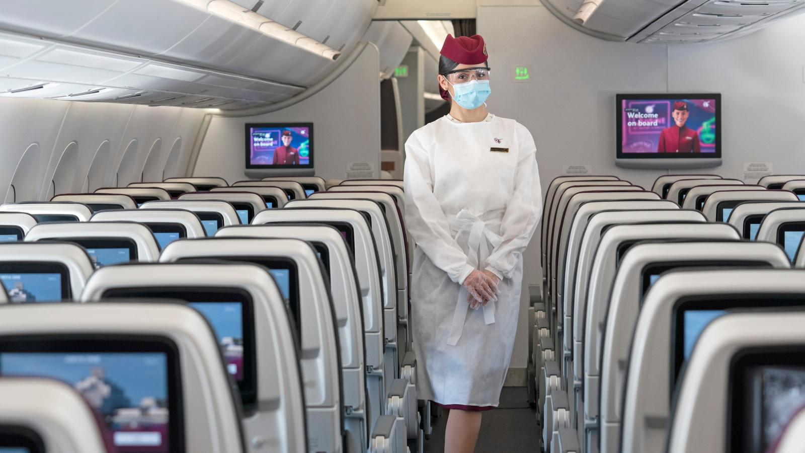 Qatar Airways has increased its health and safety measures for passengers and cabin crew