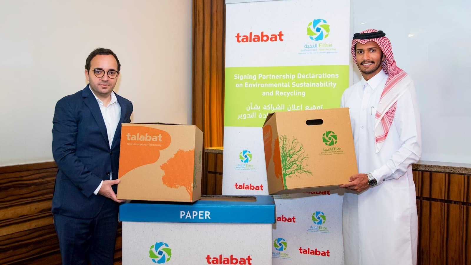 Talabat goes green for groceries