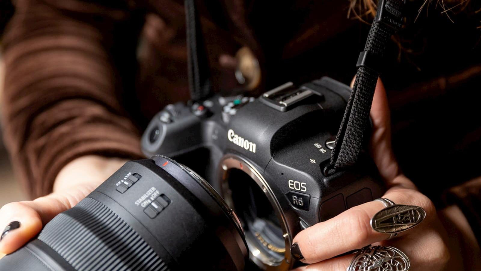 Canon announce the launch of two advanced full frame mirrorless camera EOS R5 and EOS R6