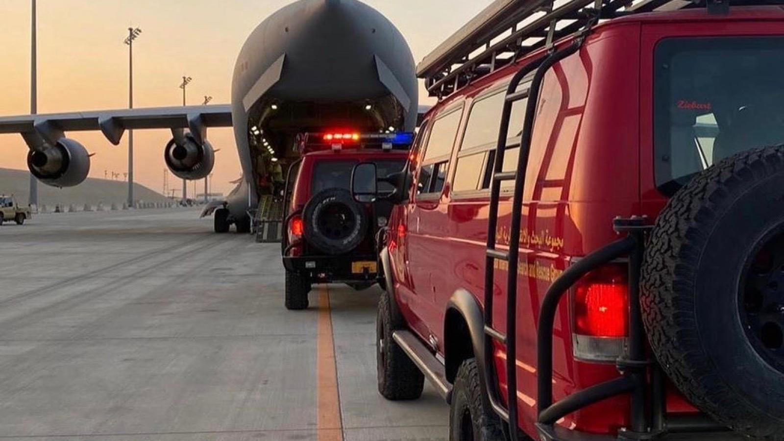 Qatar sends search and rescue team to Beirut