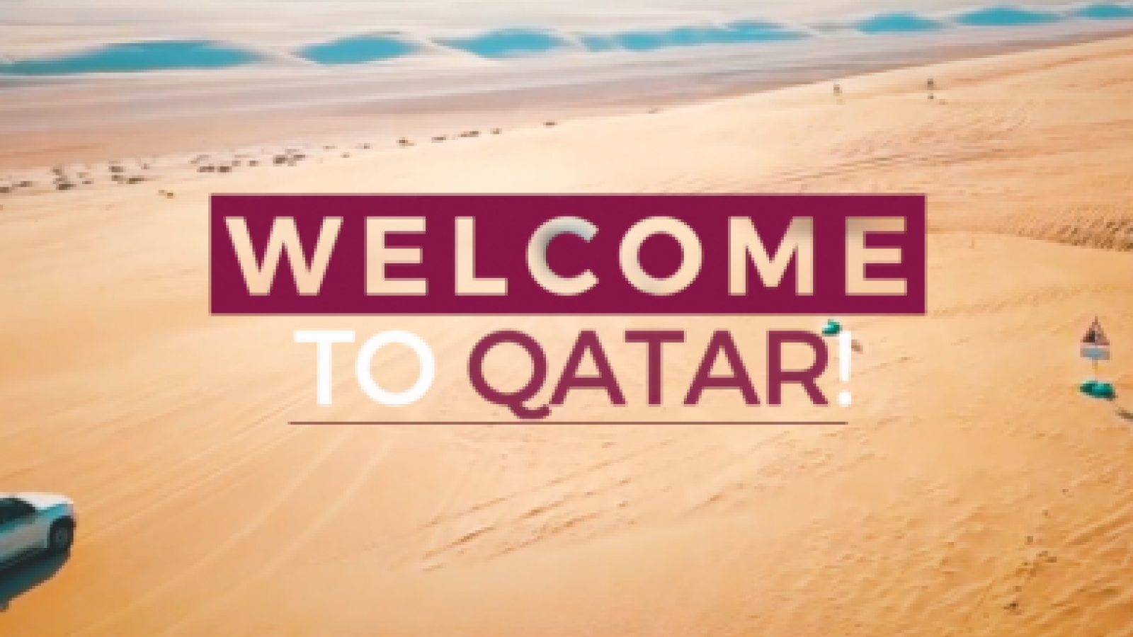 WATCH: Welcome to Qatar - Sealine
