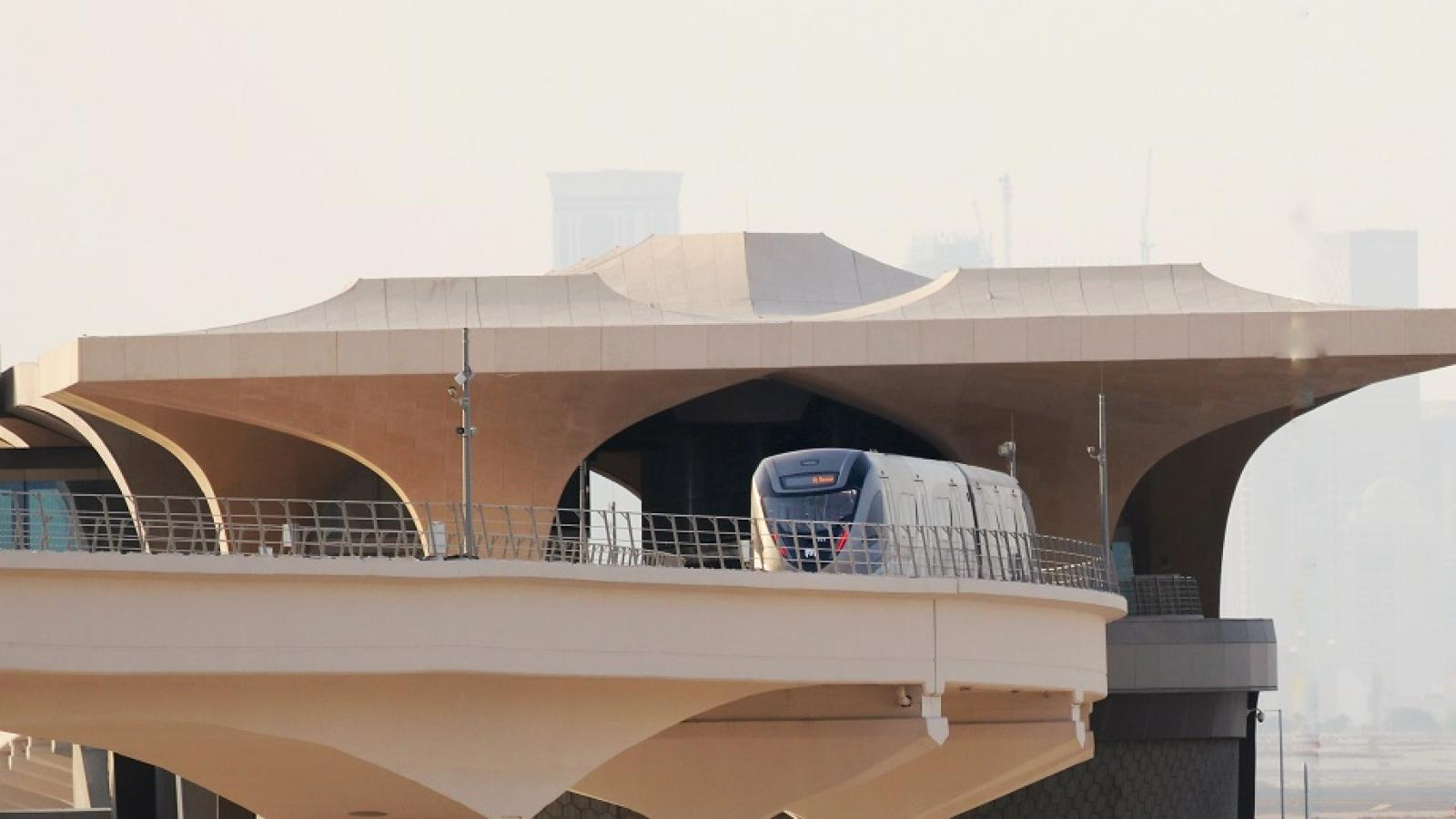 Doha Metro back on track with safety precautions on board