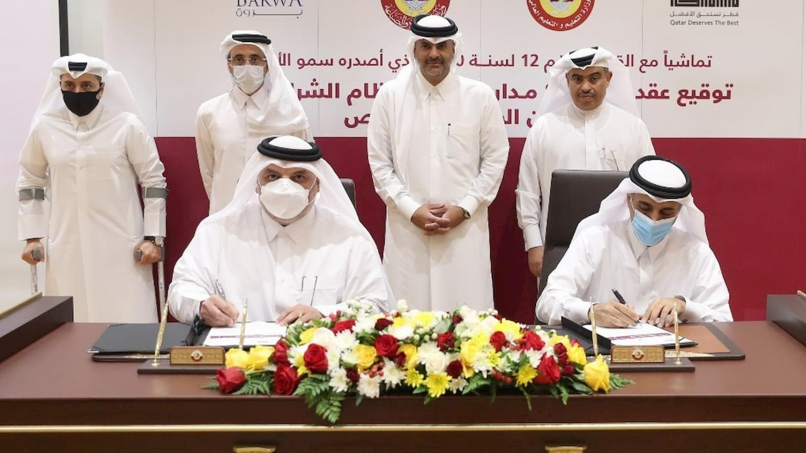 PM witnesses contract signing for construction of eight public schools