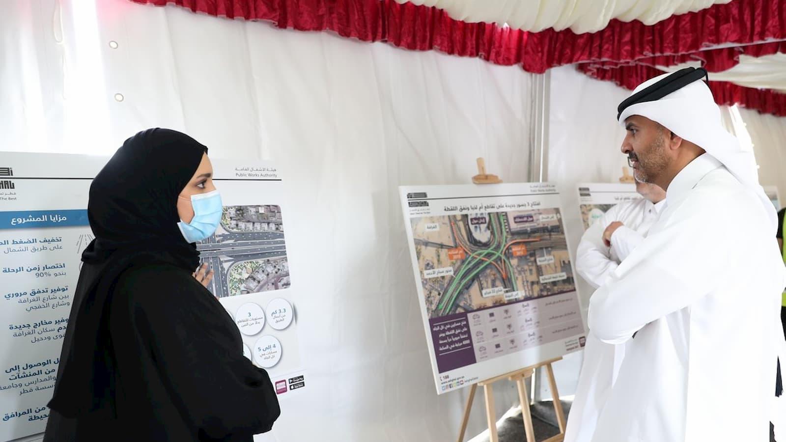 PM inspects Sabah Al Ahmad Corridor Project