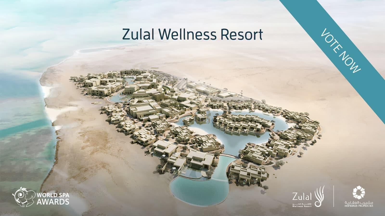 "Zulal Wellness Resort nominated as ""World's Best New Wellness Retreat""- Vote Now"