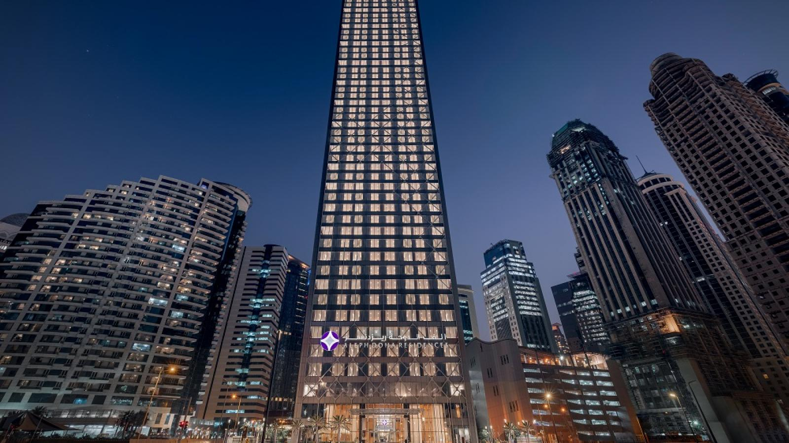ARTIC and Hilton open Aleph Doha Residences, Curio Collection by Hilton