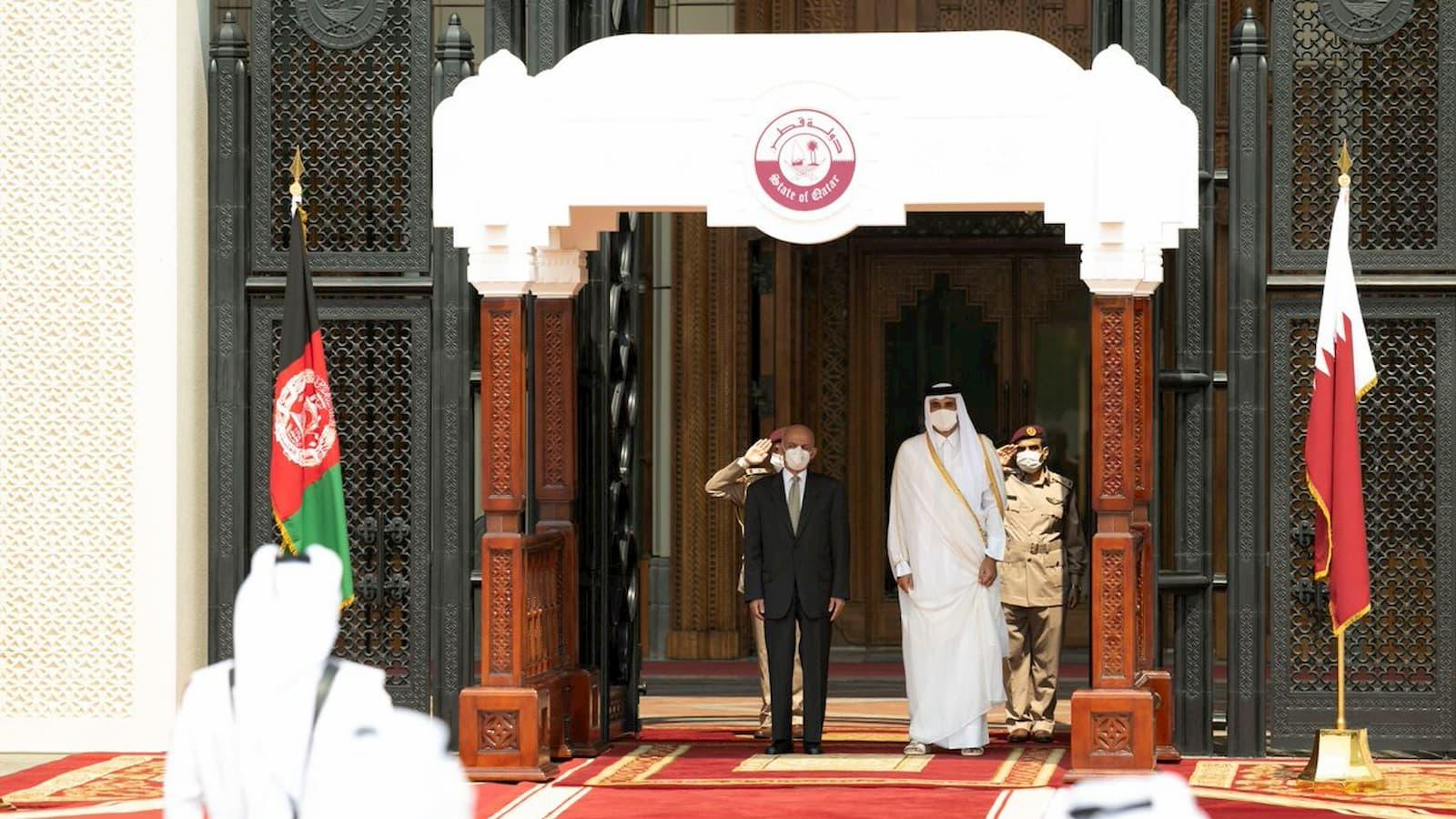 HH the Amir, President of Afghanistan review bilateral relations