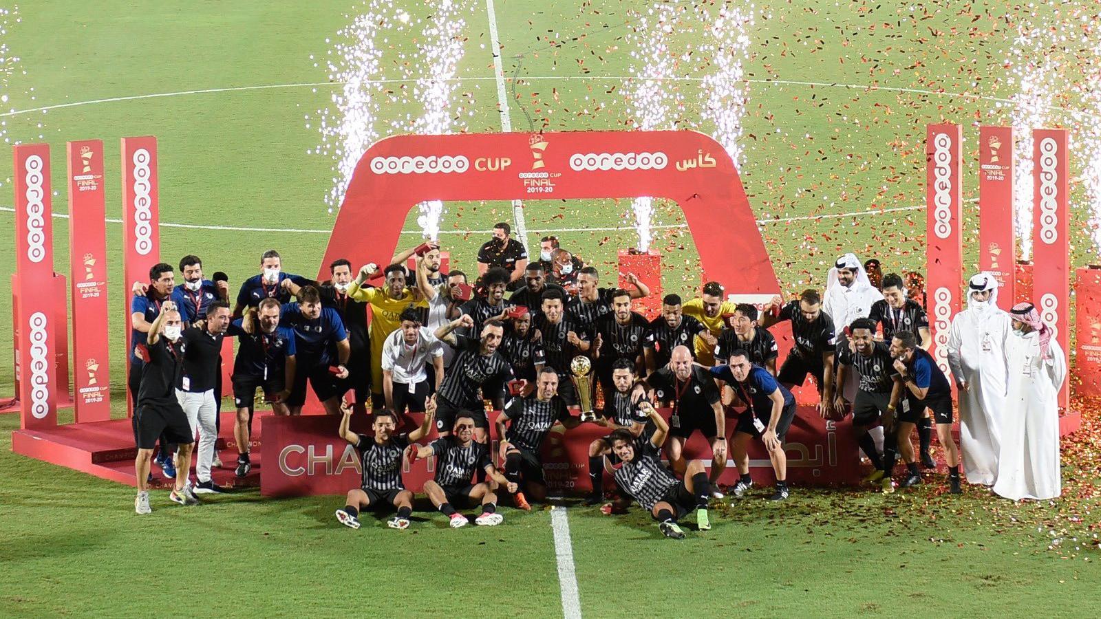 Al Sadd wallop Al Arabi 4-0 to claim Ooredoo Cup title