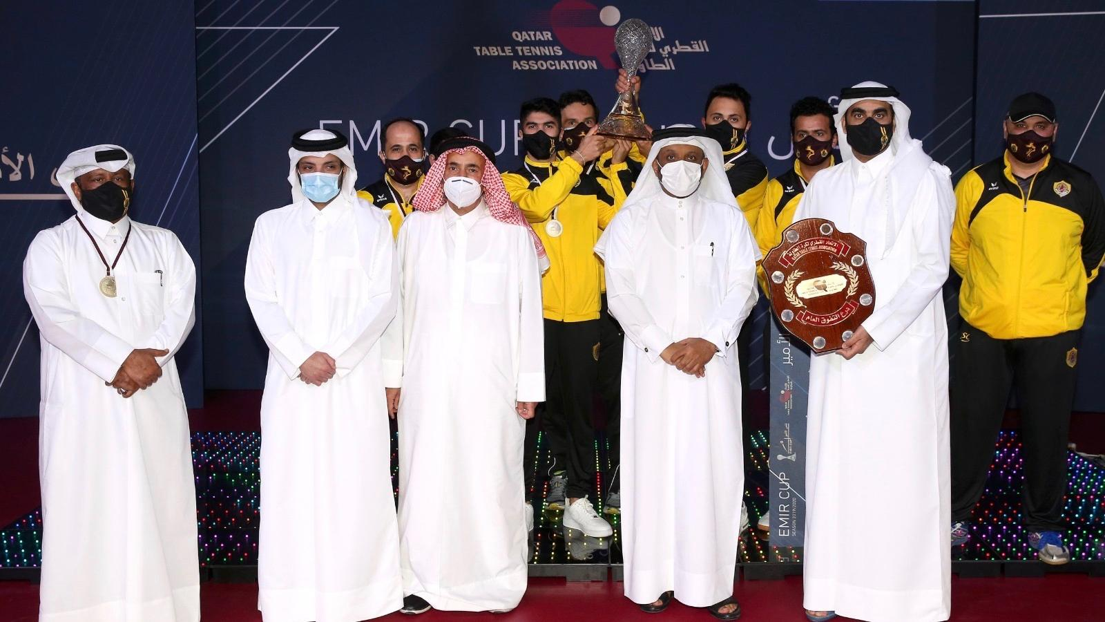 Qatar SC lift Amir Cup Table Tennis Championship title for third time in a row