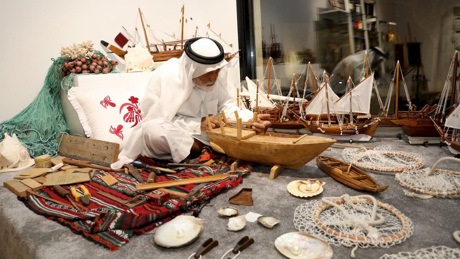 Traditional handicrafts exhibition kicks off at Katara