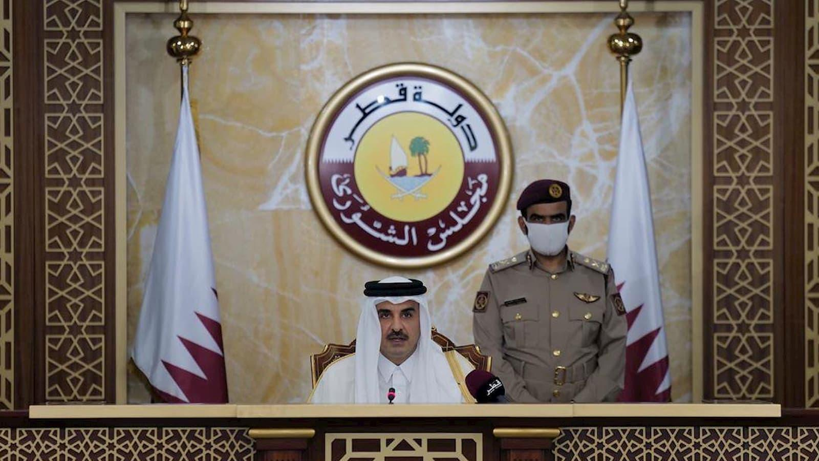 HH the Amir inaugurates 49th Ordinary Session of Shura Council