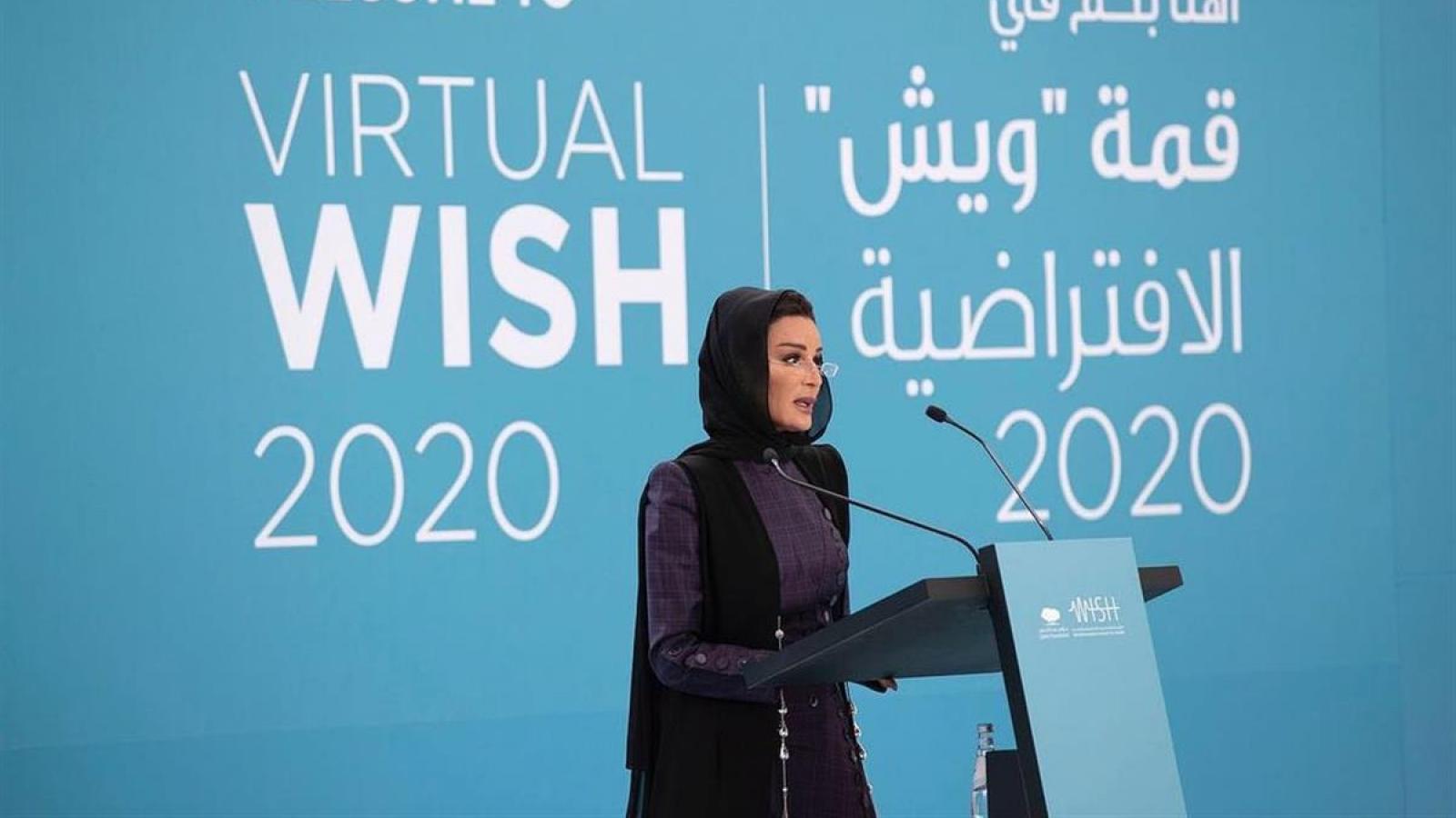 Sheikha Moza inaugurates WISH 2020