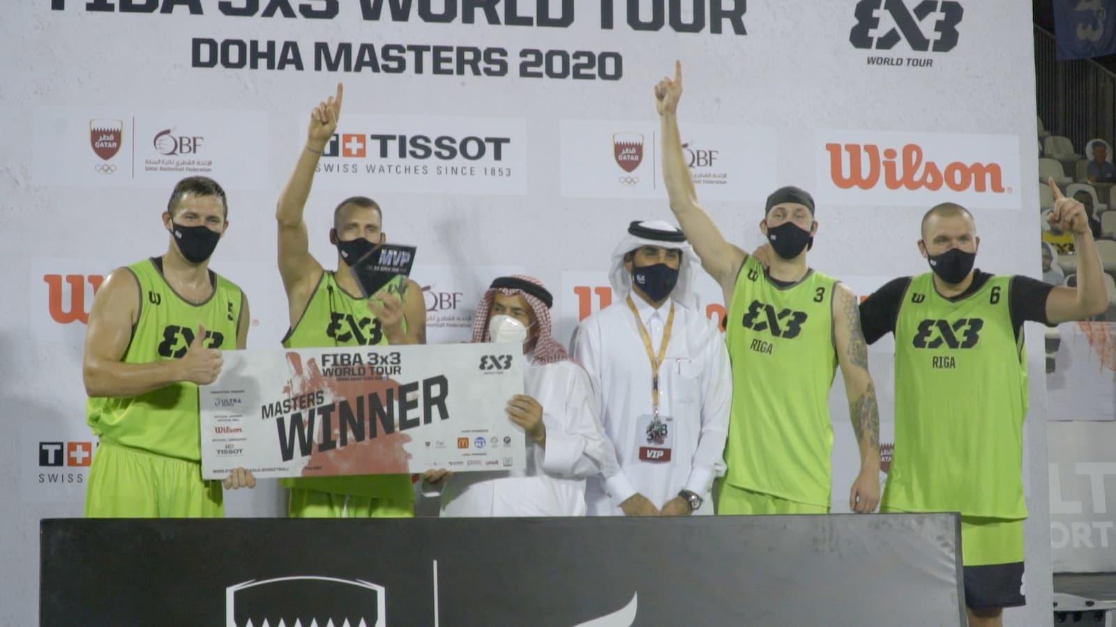 WATCH:Lasmanis hits amazing buzzer-beater as Riga claims FIBA 3x3 World Tour Doha Masters 2020 crown