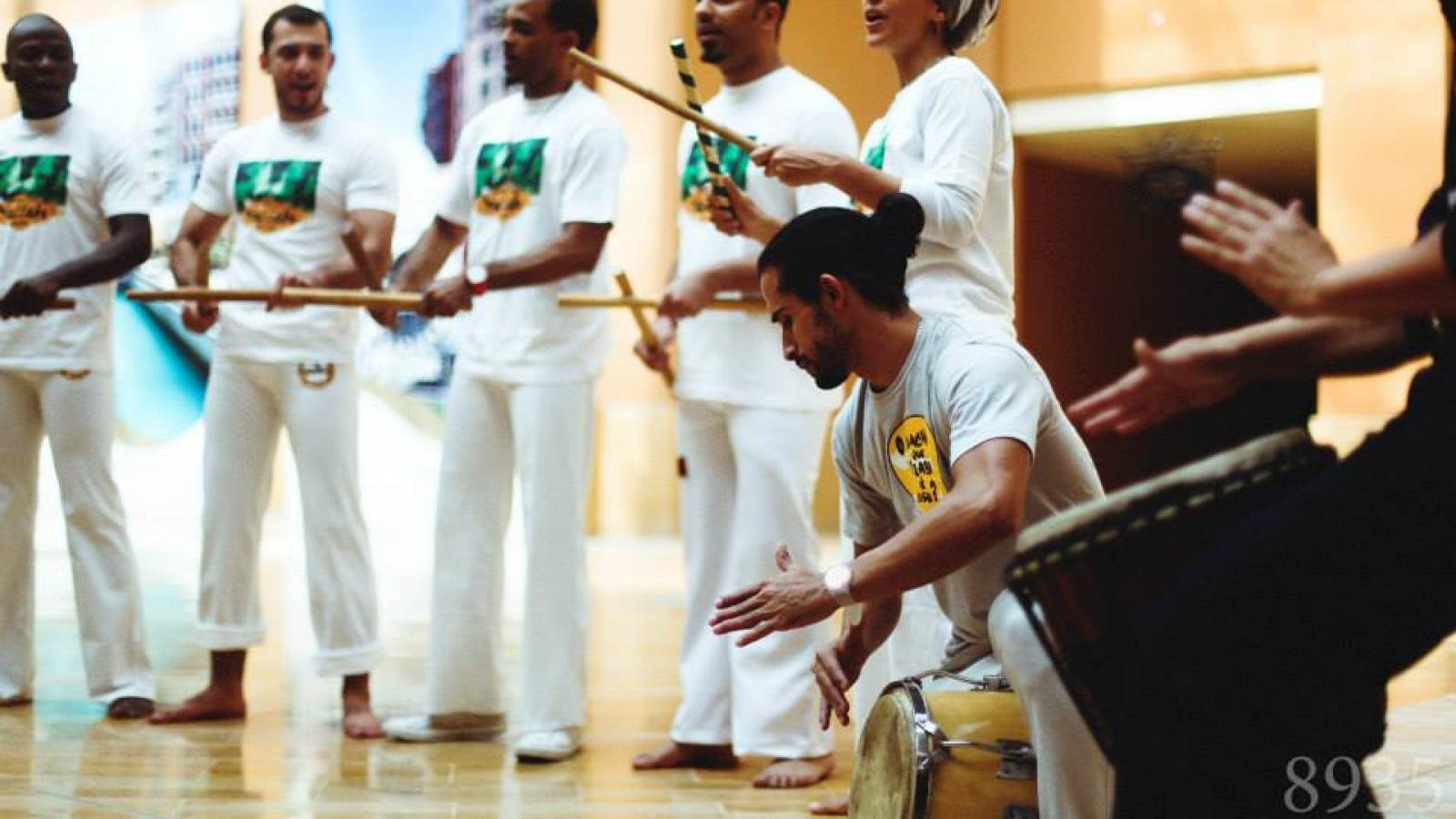 Brazilian marital art in Qatar - Capoeira