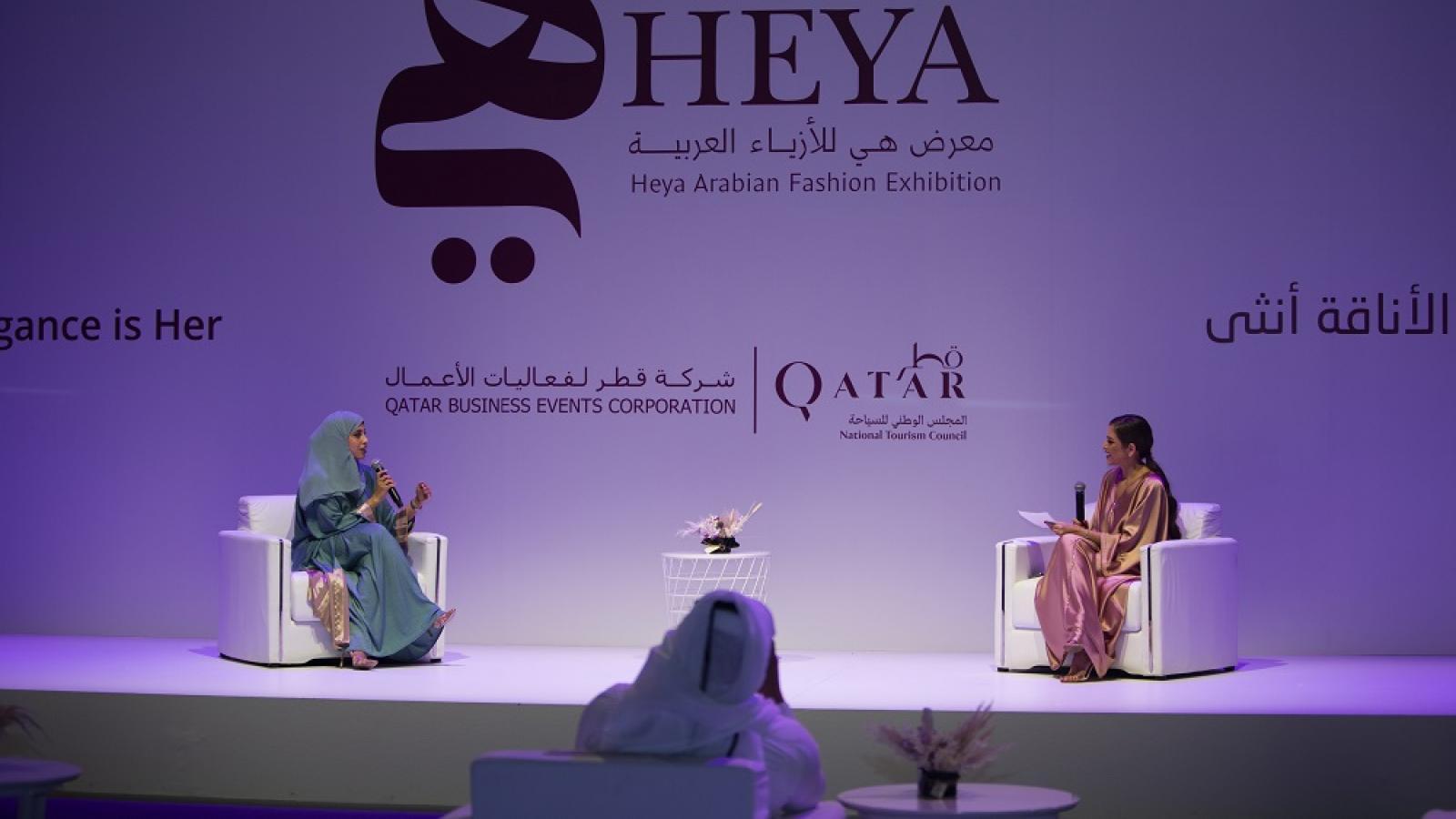 17th Heya Arabian Fashion Exhibition features high profile talks on fashion business